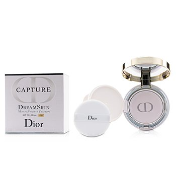 CHRISTIAN DIOR CAPTURE DREAMSKIN MOIST & PERFECT CUSHION SPF 50 WITH EXTRA REFILL - # 020 (LIGHT BEIGE)  2X15G/0.5OZ
