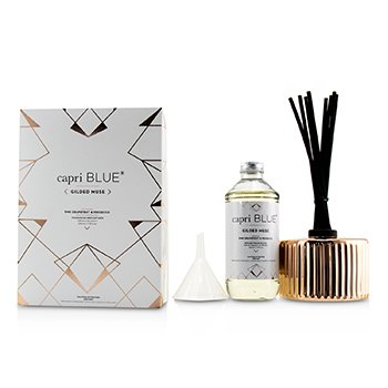 CAPRI BLUE GILDED MUSE REED DIFFUSER - PINK GRAPEFRUIT & PROSECCO  230ML/7.75OZ