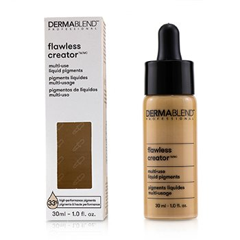 DERMABLEND FLAWLESS CREATOR MULTI USE LIQUID PIGMENTS FOUNDATION - # 37N  30ML/1OZ