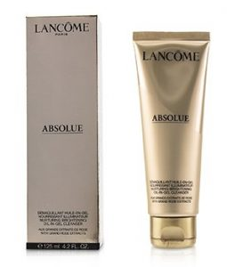 LANCOME ABSOLUE NURTURING BRIGHTENING OIL-IN-GEL CLEANSER  125ML/4.2OZ