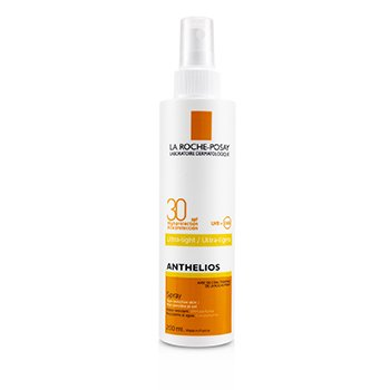 LA ROCHE POSAY ANTHELIOS ULTRA-LIGHT SPRAY SPF 30 - FOR SENSITIVE SKIN (WATER RESISTANT)  200ML/6.7OZ