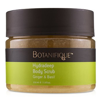 BOTANIFIQUE HYDRADEEP BODY SCRUB - GINGER & BASIL  350ML/11.8OZ