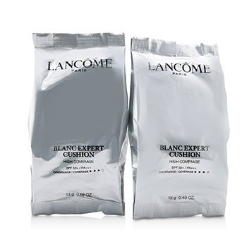 LANCOME BLANC EXPERT CUSHION HIGH COVERAGE SPF50 DUO REFILLS - # O-02  2X13G/0.98OZ