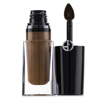 GIORGIO ARMANI EYE TINT LIQUID EYE COLOR - # 39 BROWN VULCANO (SILK-SATIN) (BOX SLIGHTLY DAMAGED)  3.9ML/0.13OZ
