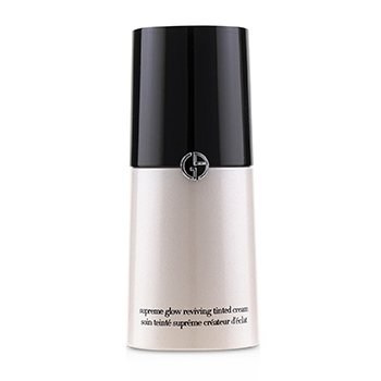 GIORGIO ARMANI CREMA NUDA SUPREME GLOW REVIVING TINTED CREAM - # 01 NUDE GLOW  30ML/1.01OZ