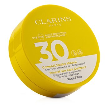 CLARINS MINERAL SUN CARE COMPACT FOR FACE SPF 30 - UNIVERSAL NUDE BEIGE  11.5ML/0.4OZ