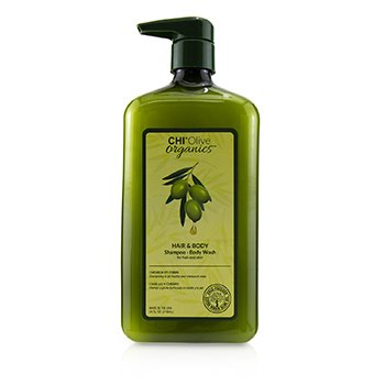CHI OLIVE ORGANICS HAIR & BODY SHAMPOO BODY WASH (FOR HAIR AND SKIN)  710ML/24OZ