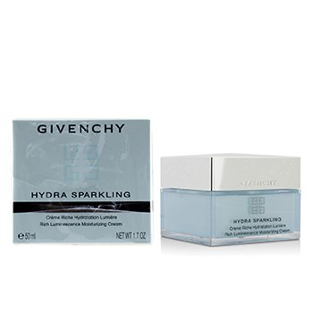 GIVENCHY HYDRA SPARKLING RICH LUMINESCENCE MOISTURIZING CREAM - DRY SKIN (PACKAGING SLIGHTLY DAMAGED)  50ML/1.7OZ