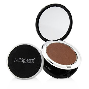 BELLAPIERRE COSMETICS COMPACT MINERAL BLUSH - # SUEDE  10G/0.35OZ