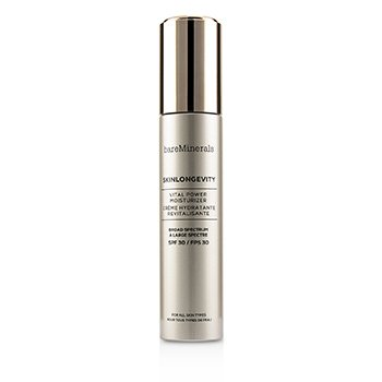 BAREMINERALS SKINLONGEVITY VITAL POWER MOISTURIZER SPF 30  50ML/1.7OZ
