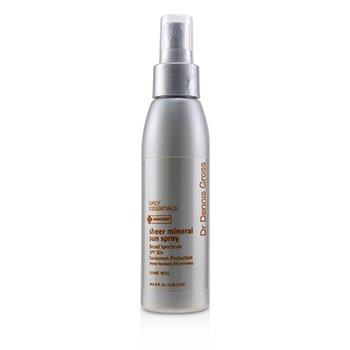 DR DENNIS GROSS SHEER MINERAL SUN SPRAY SPF 50+ (UNBOXED)  118ML/4OZ