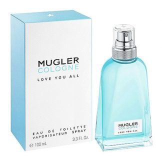 THIERRY MUGLER MUGLER COLOGNE LOVE YOU ALL EDT FOR UNISEX