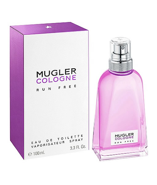 THIERRY MUGLER MUGLER COLOGNE RUN FREE EDT FOR UNISEX