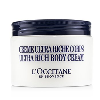 L'OCCITANE SHEA BUTTER ULTRA RICH BODY CREAM  200ML/7OZ