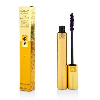 YVES SAINT LAURENT MASCARA VOLUME EFFET FAUX CILS (LUXURIOUS MASCARA) - # 04 FASCINATING VIOLET  7.5ML/0.25OZ