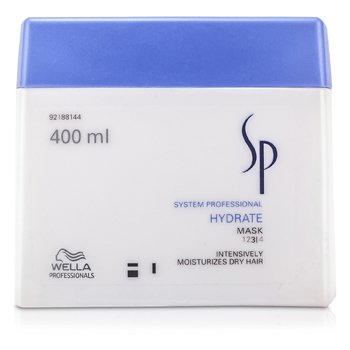 WELLA SP HYDRATE MASK (INTENSIVELY MOISTURISES DRY HAIR)  400ML/13.33OZ