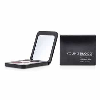 YOUNGBLOOD PRESSED MINERAL EYESHADOW QUAD - VINTAGE  4G/0.14OZ