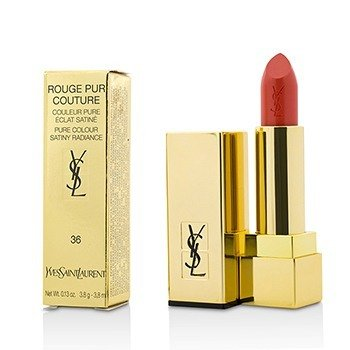 YVES SAINT LAURENT ROUGE PUR COUTURE - #36 CORAIL LEGENDE  3.8G/0.13OZ