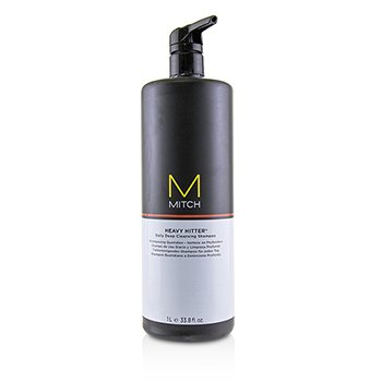 PAUL MITCHELL MITCH HEAVY HITTER DAILY DEEP CLEANSING SHAMPOO  1000ML/33.8OZ