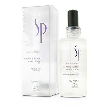 WELLA WELLA SP BALANCE SCALP ENERGY SERUM (FOR VITAL AND STRONG HAIR)  100ML/3.4OZ