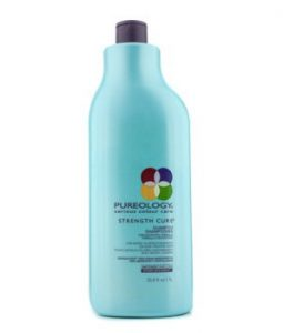 PUREOLOGY STRENGTH CURE SHAMPOO (FOR MICRO-SCARRED/DAMAGED COLOUR-TREATED HAIR)  1000ML/33.8OZ