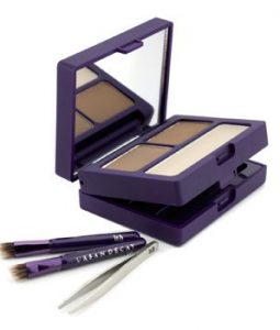 URBAN DECAY BROW BOX: EYEBROW POWDER + WAX + TOOLS - HONEY POT  6PCS