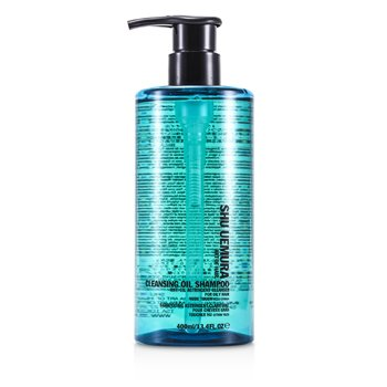 SHU UEMURA CLEANSING OIL SHAMPOO ANTI-OIL ASTRINGENT CLEANSER (NUDE TOUCH - OILY HAIR)  400ML/13.4OZ