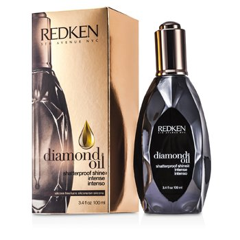 REDKEN DIAMOND OIL SHATTERPROOF SHINE INTENSE (FOR DULL, DAMAGED HAIR)  100ML/3.4OZ