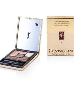 YVES SAINT LAURENT COUTURE PALETTE (5 COLOR READY TO WEAR) #02 (FAUVES)  5G/0.18OZ