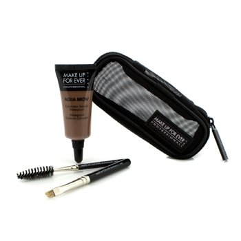 MAKE UP FOR EVER AQUA BROW KIT - #20 LIGHT BROWN  7ML/0.23OZ