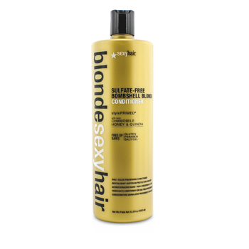 SEXY HAIR CONCEPTS BLONDE SEXY HAIR SULFATE-FREE BOMBSHELL BLONDE CONDITIONER (DAILY COLOR PRESERVING)  1000ML/33.8OZ