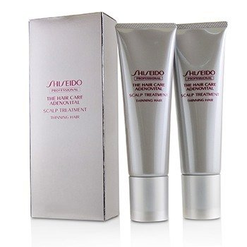 SHISEIDO THE HAIR CARE ADENOVITAL SCALP TREATMENT (THINNING HAIR)  2X130G/4.4OZ