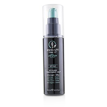 PAUL MITCHELL AWAPUHI WILD GINGER STYLE STYLING TREATMENT OIL (ULTRA LIGHT - SILKY)  100ML/3.4OZ