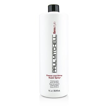 PAUL MITCHELL FIRM STYLE FREEZE AND SHINE SUPER SPRAY (MAXIMUM HOLD - FINISHING SPRAY)  1000ML/33.8OZ