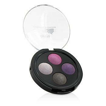 LAVERA ILLUMINATING EYESHADOW QUATTRO - # 02 LAVENDER COUTURE  -