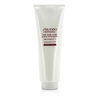 SHISEIDO THE HAIR CARE AQUA INTENSIVE TREATMENT 2 - # MOIST FEEL (DAMAGED HAIR)  250G/8.5OZ