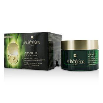 RENE FURTERER ABSOLUE KèRATINE RESTORING RITUAL ULTIMATE RENEWAL MASK (EXTREMELY DAMAGED, BRITTLE HAIR)  200ML/6.9OZ
