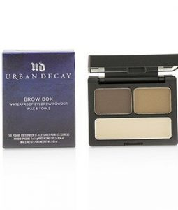 URBAN DECAY BROW BOX: EYEBROW POWDER + WAX + TOOLS - BROWN SUGAR  -