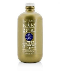 NISIM NEWHAIR BIOFACTORS NORMAL TO OILY SHAMPOO - NO SULFATES  1000ML/33OZ