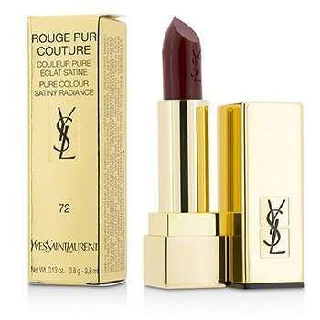YVES SAINT LAURENT ROUGE PUR COUTURE - #72 ROUGE VINYLE  3.8G/0.13OZ