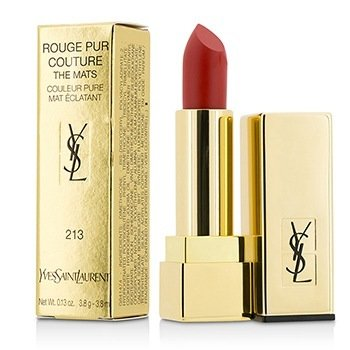 YVES SAINT LAURENT ROUGE PUR COUTURE THE MATS - # 213 ORANGE SEVENTIES  3.8G/0.13OZ