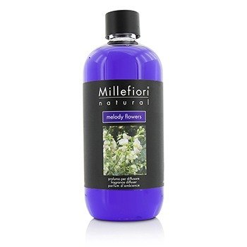 MILLEFIORI NATURAL FRAGRANCE DIFFUSER REFILL - MELODY FLOWERS  500ML/16.9OZ