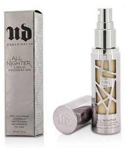 URBAN DECAY ALL NIGHTER LIQUID FOUNDATION - # 4.0  30ML/1OZ