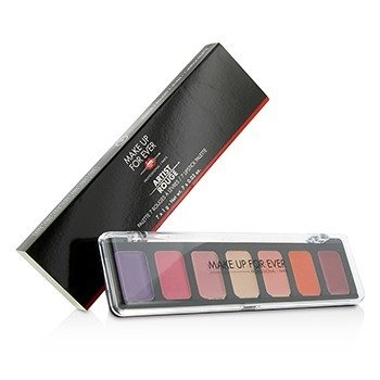 MAKE UP FOR EVER ARTIST ROUGE 7 LIPSTICK PALETTE - # 2  7X1G/0.03OZ
