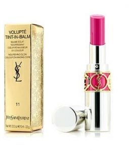 YVES SAINT LAURENT VOLUPTE TINT IN BALM - # 11 PLAY ME FUCHSIA  3.5G/0.12OZ