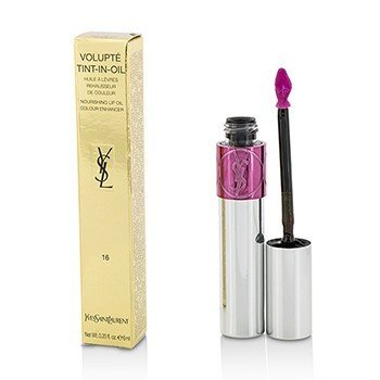 YVES SAINT LAURENT VOLUPTE TINT IN OIL - #16 PRUNE ME TENDER  6ML/0.2OZ
