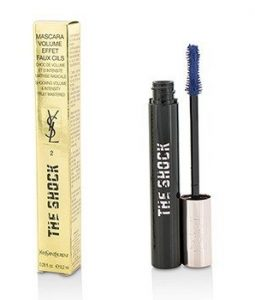 YVES SAINT LAURENT THE SHOCK VOLUMIZING MASCARA - # 02 UNDERGROUND BLUE  8.2ML/0.28OZ