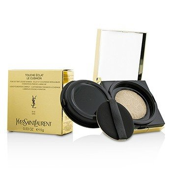 YVES SAINT LAURENT TOUCHE ECLAT LE CUSHION LIQUID FOUNDATION COMPACT - #B40 SAND  15G/0.53OZ