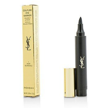 YVES SAINT LAURENT COUTURE EYE MARKER - # 1 NOIR SCANDLE  2.5G/0.09OZ