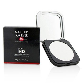 MAKE UP FOR EVER ULTRA HD MICROFINISHING PRESSED POWDER - # 01 (TRANSLUCENT)  6.2G/0.21OZ